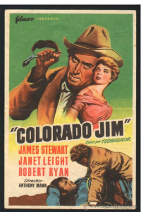 1955 THE FAR COUNTRY Movie Release Vintage Look REPLICA METAL SIGN JAMES STEWART