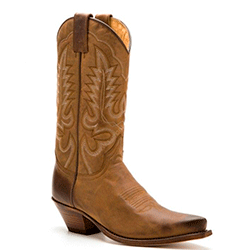 Sendra womens greased brown leather high heel cowboy boots 1d617c37275f