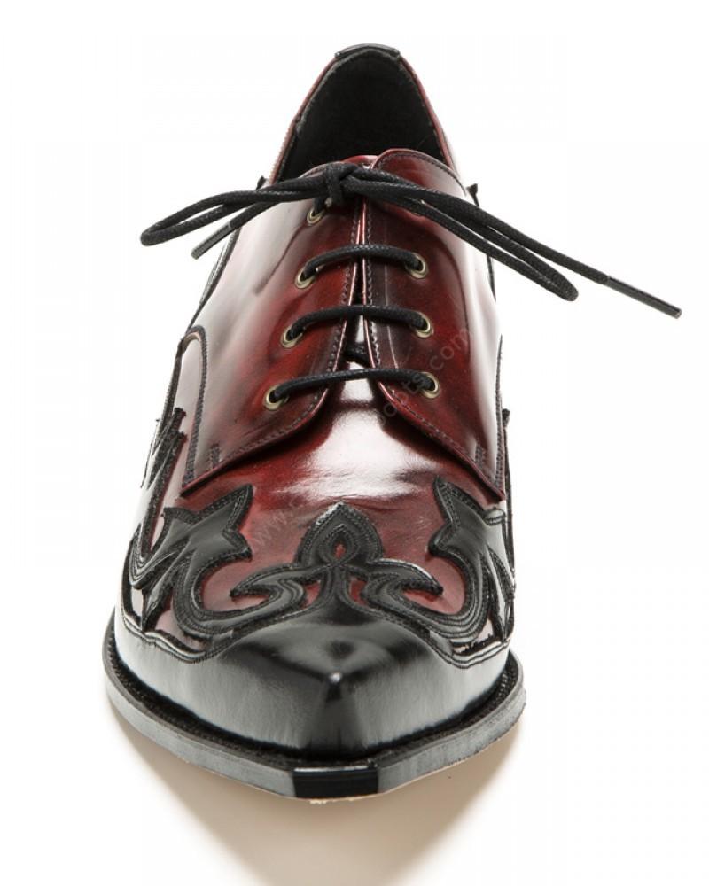 Cuervo Negro Estilo Rojo Zapatos 10066 Florentic Dirty fqZnES0