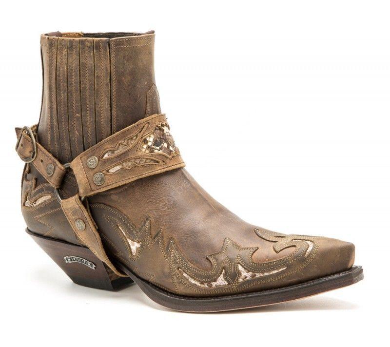 Sendra Mens Harness Short Boot
