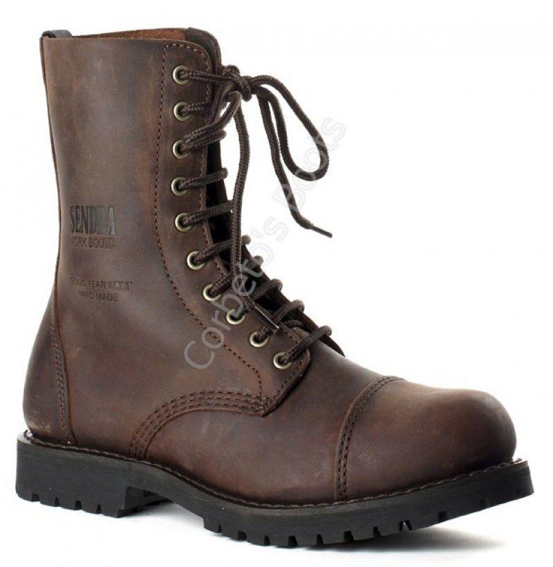 Zapatos fucsia con cordones Sendra Boots para mujer aMrvd