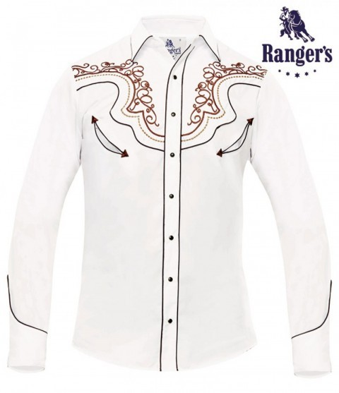White charro design mens Ranger