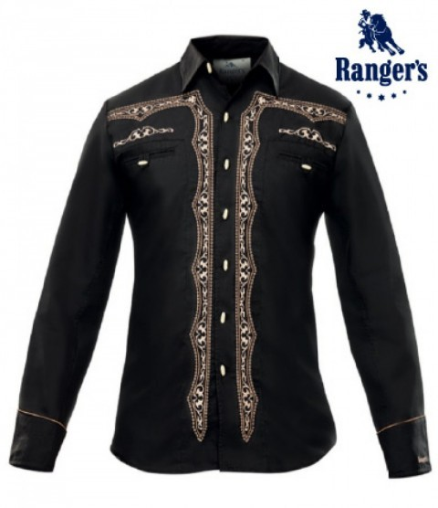 Traditional mens black Ranger
