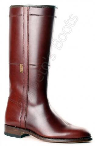 Ladies Valverde del Camino brown leather rociero boots