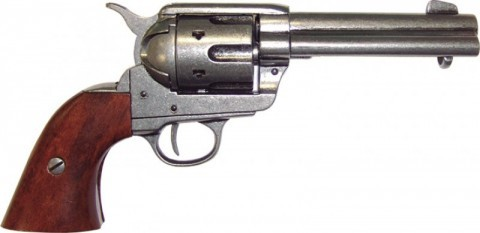 XIX century American handgun replica for decoration and historical recreations