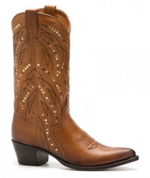 Sendra ladies cream colour western boots