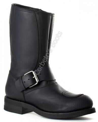 Mayura steel toe engineer boots with zipper