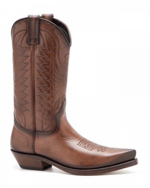 Mayura classic vintage natural leather mens cowboy boots