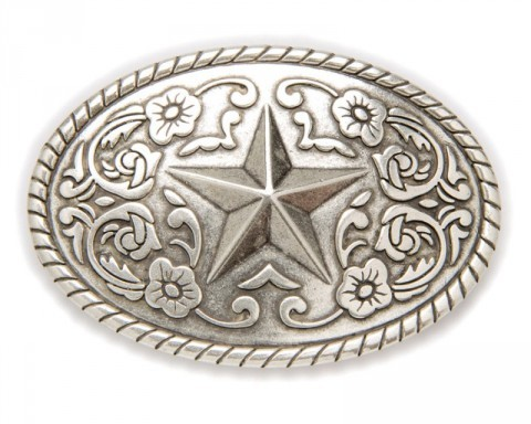 Sendra Boots Texan style silver star belt buckle