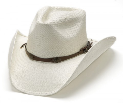 Stars & Stripes unisex soft straw cowboy hat