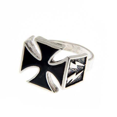 Malta cross biker ring