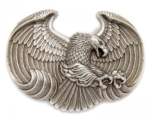 Nocona emsossed eagle belt buckle