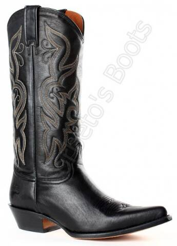 Buffalo Boots ladies black cow leather high leg cowboy boots