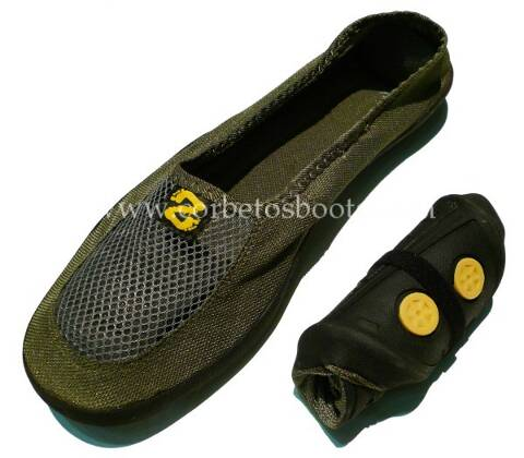Pocket Slippers GREEN