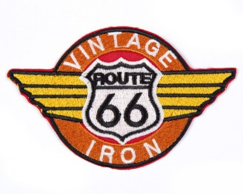 Route 66 Vintage Iron patch