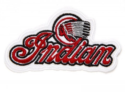 Retro style Indian Motorcycle clothing patch