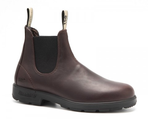 Blundstone 150 anniversary special edition auburn brown boots