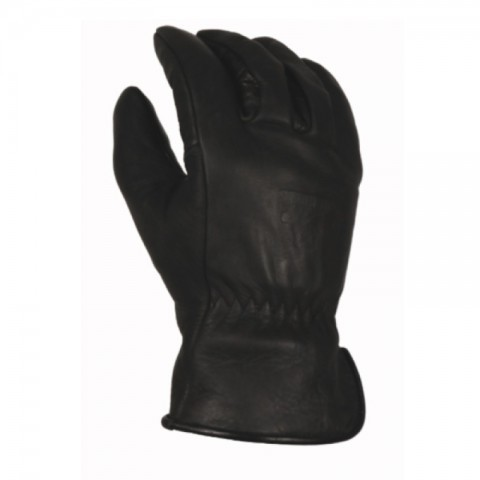 Bear Knuckles waterproof winter fleece-lined black gloves