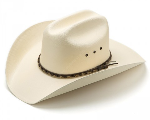 Canvas straw country line dance cowboy hat